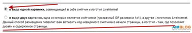 liveinternet-код счетчика