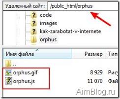 Orphus-файлы
