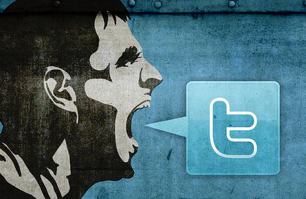 Прогон сайта через твиттер